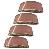Belt Power Finger File Sander Abrasive Sanding Belts 457mm x 75mm 60 Grit 20 PK