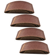 Belt Power Finger File Sander Abrasive Sanding Belts 533mm x 75mm 60 Grit 20 PK