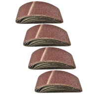 Belt Power Finger File Sander Abrasive Sanding Belts 533mm x 75mm 40 Grit 20 PK