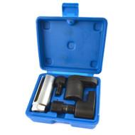 5pc Oxygen Sensor Thread Chaser Vacuum Socket Lambda Spark Plug Slot TE920