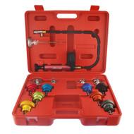 Radiator Pressure Tester Temperature Kit Cooling System Test Detector With Gauge