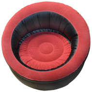 Single Inflatable Chair Blow Up Sofa Seat Lounger Gaming Pod Camping Lounge