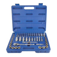 Metric And Imperial AF SAE Shallow And Deep Socket Set 50pcs 6mm – 19mm