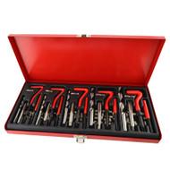 131pc Thread Repair Tool Helicoil Metric Rethread M5 - M12 Stainless Steel TE850