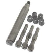 Glow Plug Cylinder Head Metric Thread Repair Restorer Tap Kit M8 x 1.0mm