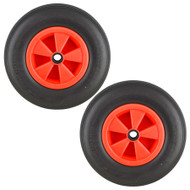 Launch Trolley Wheels Puncture Proof Cellular Foam Sailing Dinghy Boat x 2 (Pair)