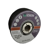 25 PACK  115 X 1.0 X 22.2MM CUTTING DISC FOR S/STEEL