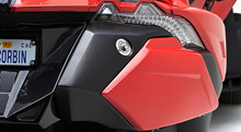 Corbin Fleetliner Saddlebags for Polaris Slingshot