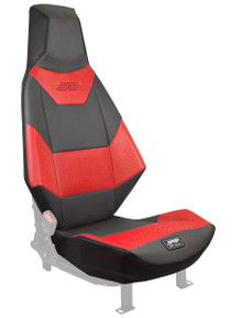PRP Polaris Slingshot Stock Seat Covers - Red / Gray / Black