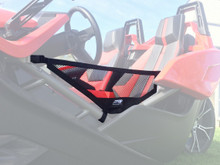 PRP Polaris Slingshot Soft Doors - Installed