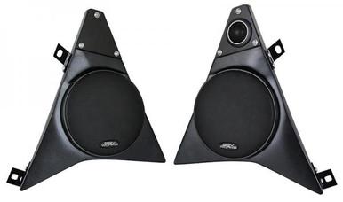 """Polaris Slingshot Front Speaker Pods with 6.5"""" Speakers - 120 Watt"""