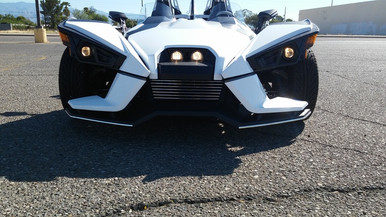 Demons Speed Shop Polaris Slingshot Chrome Front Spoiler Accents