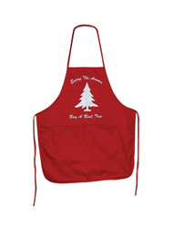 Colorful Red Bib Apron (JB-102)