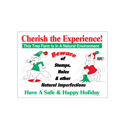 Cherish the Experience Sign (JB-107)