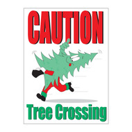 Caution Tree Crossing Sign (JB-123)