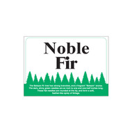 Species Sign - Noble Fir (JB-SP-11)