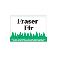 Species Sign - Fraser Fir (JB-SP-5)