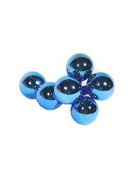 Glass Balls 35mm - Blue (WS-GBL-B)