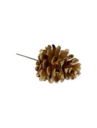 "2.5"" Single Pine Cone - Gold (WS-SCG)"