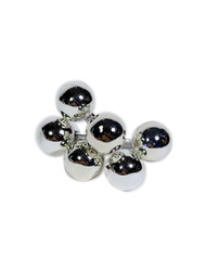 Glass Balls 50mm - Silver (WS-GBXL-S)
