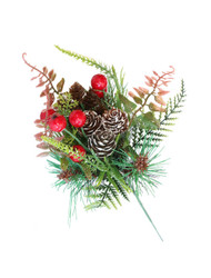 Mixed Fern Pine Cone Pick (WS-FPCP)