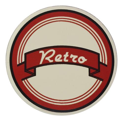 Retro Horn Button