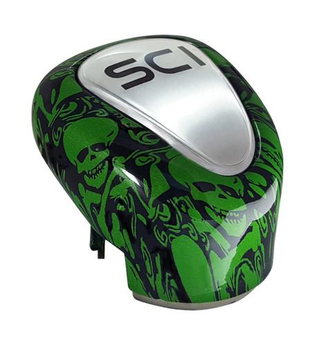 13/18 Green Skulls