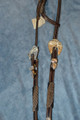 Dale Chavez Braided Horsehair n Leather Western Headstall