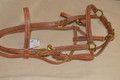 Halter Bridle Herman Oak Brass Hardware