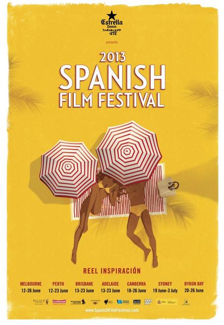 2013 Spanish Film Festival Poster