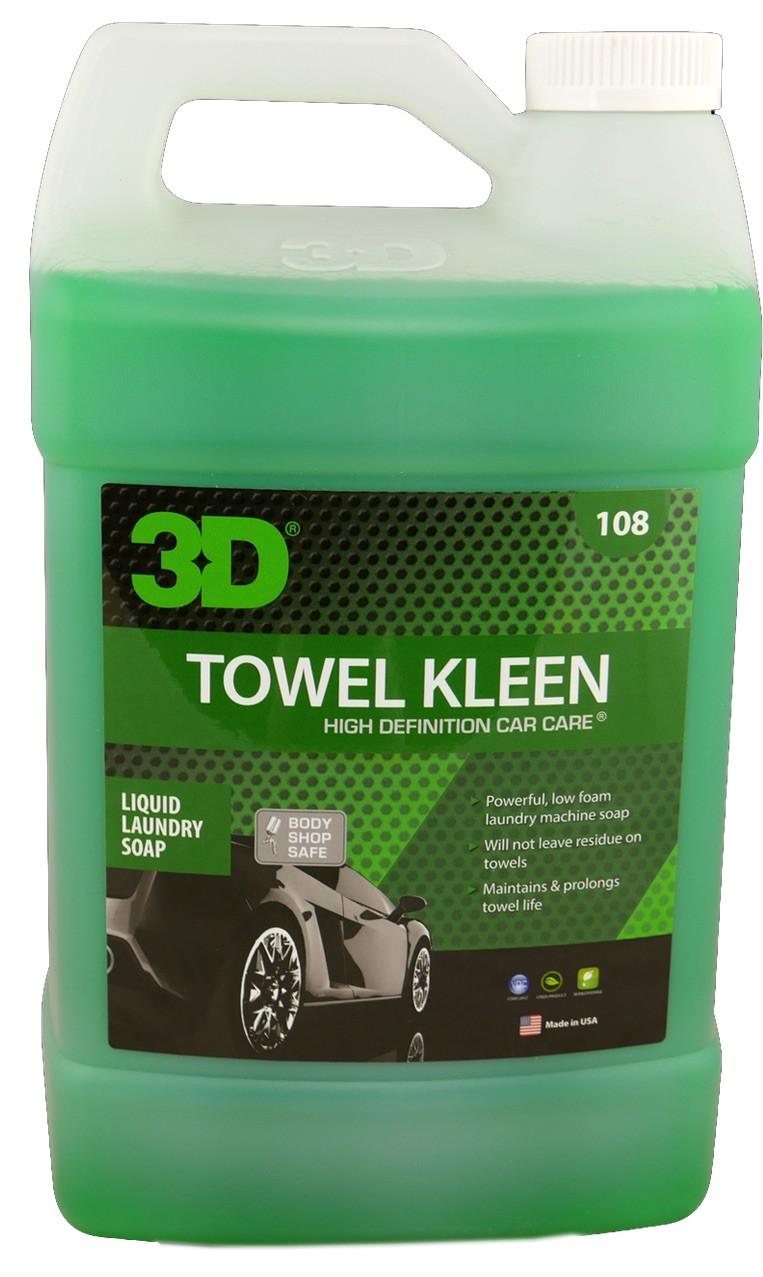 3d Towel Kleen Microfiber Towel Detergent