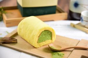京都〈茶游堂〉宇治石磨濃茶卷蛋
