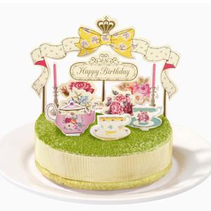 蛋糕裝飾擺設套裝 - Tea Party
