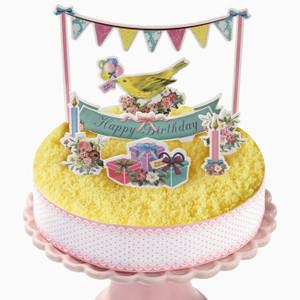 蛋糕裝飾套裝擺設 - Lace & Ribbon