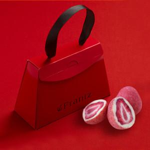 〈Frantz〉 紅粉貴族草莓松露朱古力(限定版小手袋禮盒)
