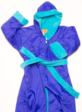 Polar Fleece Royal & Aqua