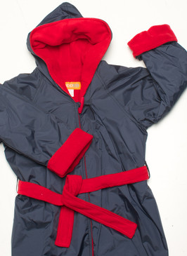 Polar Fleece Navy & Red