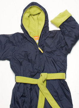 Polar Fleece Navy & Lime