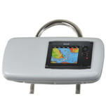 "NavPod GP1040-07 SystemPod Pre-Cut f\/Simrad NSS7 or B&G Zeus Touch 7 & Space On The Left f\/9.5"" Wide Guard"