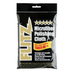 "Flitz Microfiber Polishing Cloth - 16"" x 16"" - Single Bag"