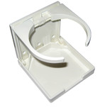 Whitecap Folding Drink Holder - White Nylon