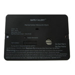 Safe-T-Alert 62 Series Carbon Monoxide Alarm w\/Relay - 12V - 62-542-Marine-PLY-NC - Flush Mount - Black