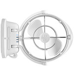 "Caframo Sirocco II 3-Speed 7"" Gimbal Fan - White - 12-24V"