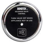 Xintex Propane Control & Solenoid Valve w\/Chrome Bezel Display