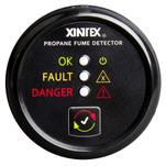 Xintex Propane Fume Detector w\/Plastic Sensor - No Solenoid Valve - Black Bezel Display
