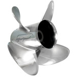 Turning Point Express EX1-1317-4\/EX2-1317-4 Stainless Steel Right-Hand Propeller - 13.5 x 17 - 4-Blade