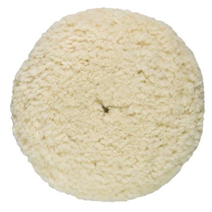 Presta Rotary Wool Buffing Pad - White Heavy Cut