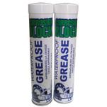 Corrosion Block High Performance Waterproof Grease - (2) 3oz Cartridges - Non-Hazmat, Non-Flammable  Non-Toxic
