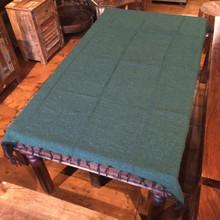 Solid Green Falsa Blanket