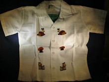 Children's Shorts & Top Set Hand Embroidered from La Palma, El Salvador  Size 4